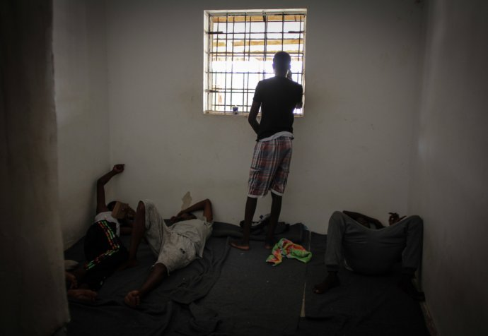 Condemned to drown at sea or be locked up in Libya